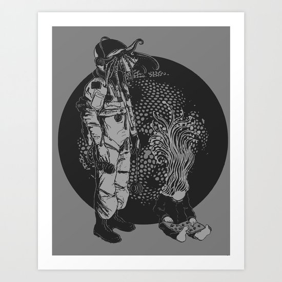 It Came from Inner Space Art Print