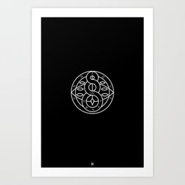 The Order Of Whispers Art Print