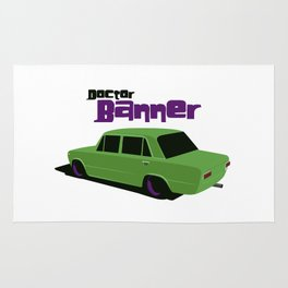 Doctor Banner Rug