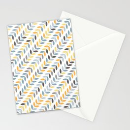 String Leaves Stationery Cards