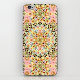 Pink Carousel Mandalas iPhone Skin