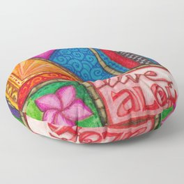 Live Aloha Floor Pillow