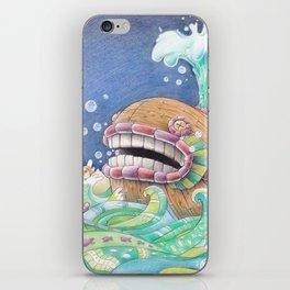 Whaleship iPhone Skin