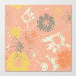 Late Summer Peach Canvas Print