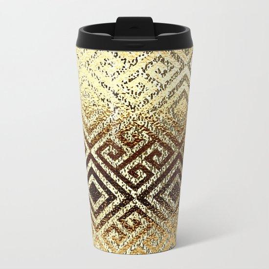 Elegant gold #1 Metal Travel Mug