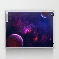 Abstract Fractal Design 11 - Space and Dark Matter Absorption Laptop & iPad Skin