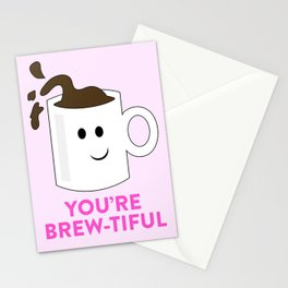 BREW-TIFUL Stationery Cards