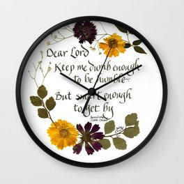 Smart enough to get by Wall Clock