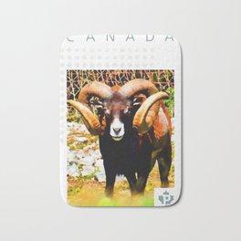Mouflon Ram Bath Mat