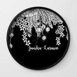 Psithurism custom for Janika Wall Clock