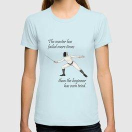I love fencing (Gentlemen's edition) T-shirt