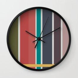 Cooling Summer Wall Clock
