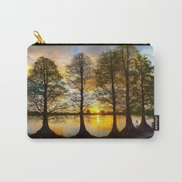 A Lakeland Sunset Carry-All Pouch