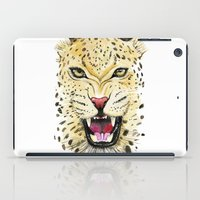leo iPad Cases featuring Leo by Iskoskikh Sveta