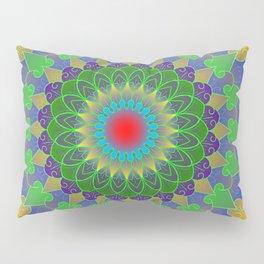 Life cycle mandala Pillow Sham