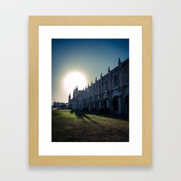 Jeronimos Monastery, Belem - Portugal Framed Art Print
