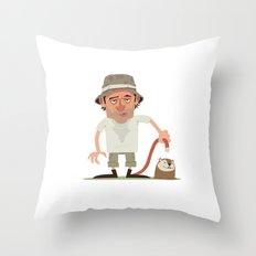 Caddyshack Carl Throw Pillow