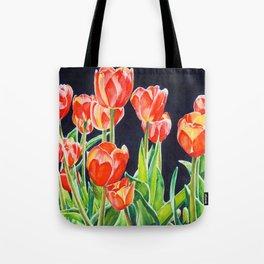 Tulip Translucence Tote Bag