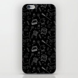Witchy pattern iPhone Skin
