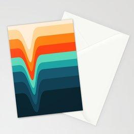 Retro Verve Stationery Cards