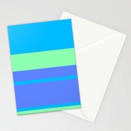 Retro Blue Surf Stationery Cards