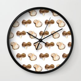Mushrooms - Ozniot Hakelach Wall Clock