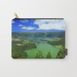 Lakes in Azores islands Carry-All Pouch