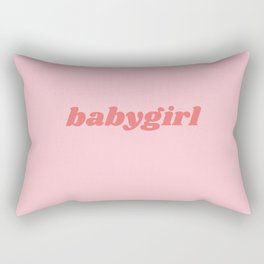 babygirl Rectangular Pillow
