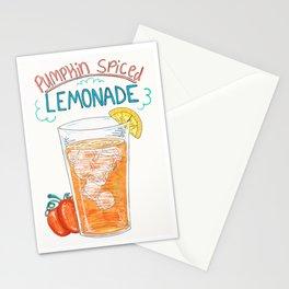Pumpkin Spiced Lemonade (Simpler Version) Stationery Cards
