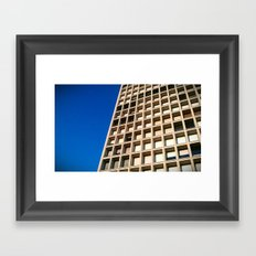 HONEYCOMB. Framed Art Print