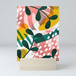 Pink jungle ll Mini Art Print