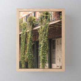Down in the Quarter Framed Mini Art Print