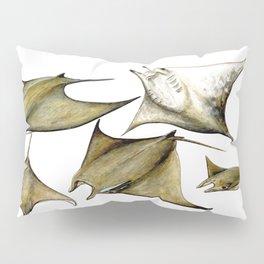 Chilean devil manta ray (Mobula tarapacana) Pillow Sham