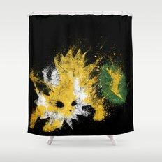 Thunder Stone Shower Curtain