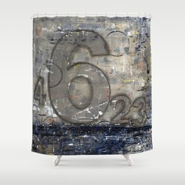 Journey by Number: 6 Shower Curtain