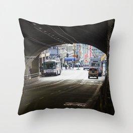 Stockton Tunnel Throw Pillow