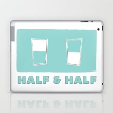 half & half Laptop & iPad Skin