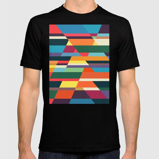 The hills run to infinity T-shirt