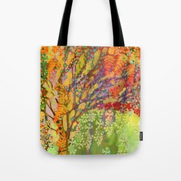Immersed in Summer Tote Bag