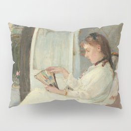 The Artist's Sister at a Window by Berthe Morisot Pillow Sham