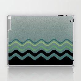 Grey &green Laptop & iPad Skin