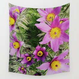 pasque-flower Wall Tapestry