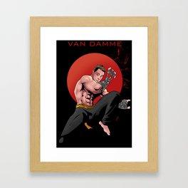 Kickboxer Framed Art Print