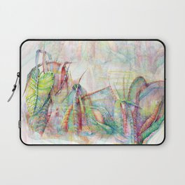 Vegetal color chaos Laptop Sleeve
