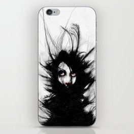 Coiling and Wrestling. Dreaming of You iPhone Skin