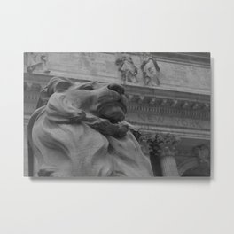 The New York Public Library 2 Metal Print