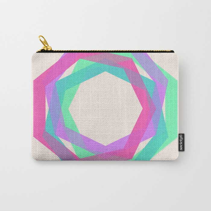 geo particles Carry-All Pouch
