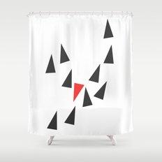 Opposite I Shower Curtain