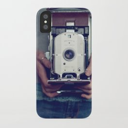 her camera iPhone Case
