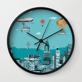 adventure days  New York Wall Clock